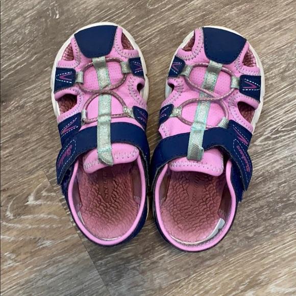 Skechers Shoes | Sketcher Girls Sandals
